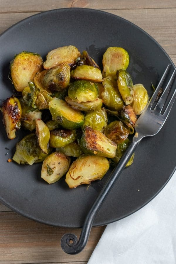 Easy Caramelized Brussels Sprouts