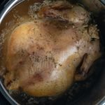 Whole Chicken in Instant Pot after slow cooking