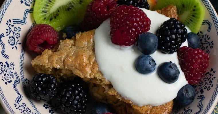 Flourless Baked Oatmeal