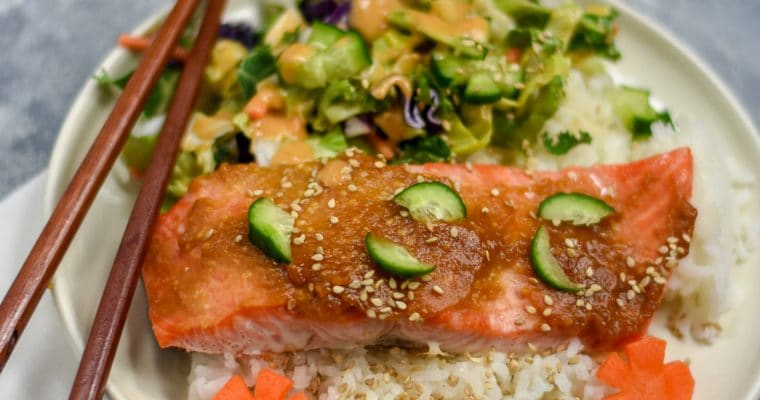 Miso-Lemon Baked Steelhead Trout
