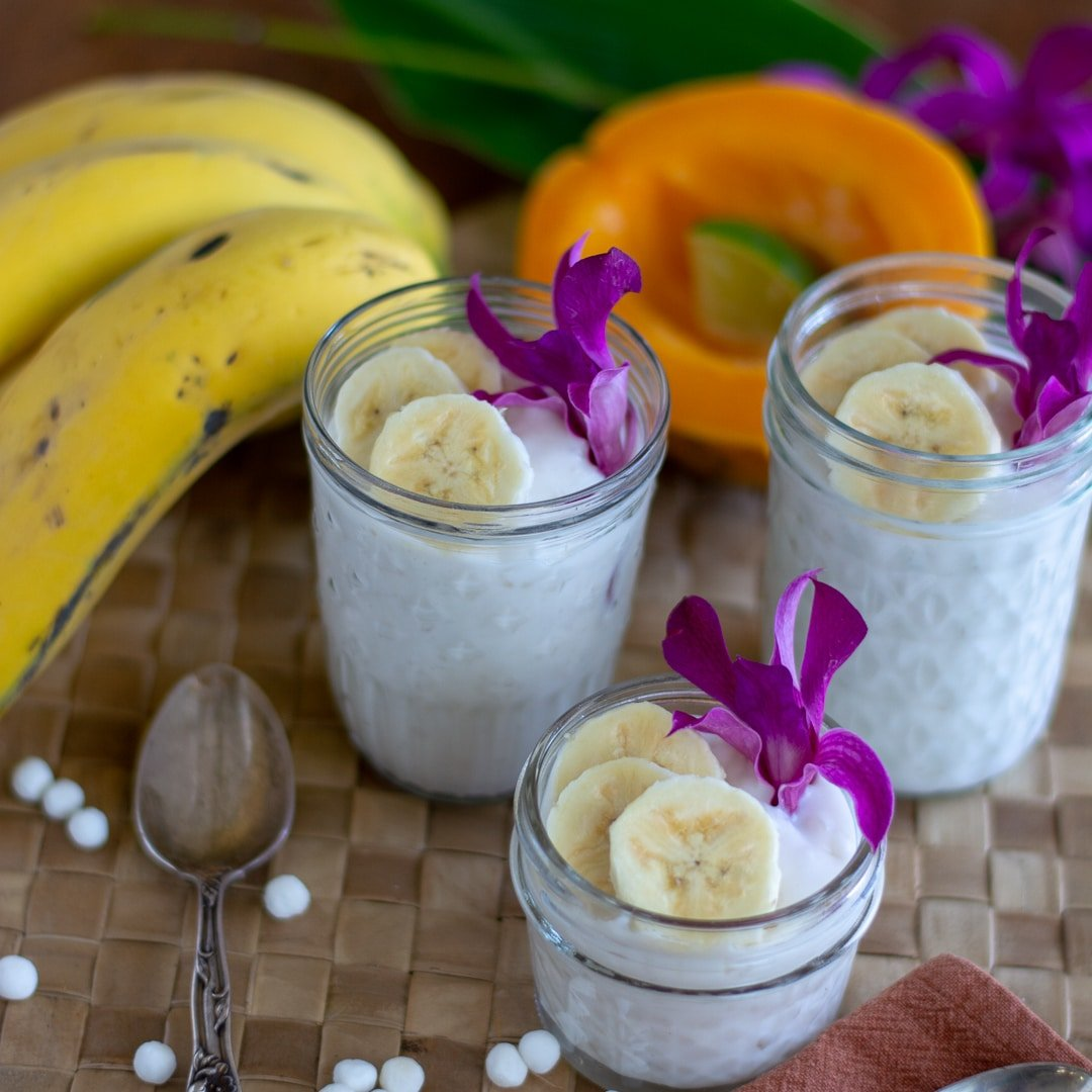 Easy Coconut Milk Tapioca Dessert