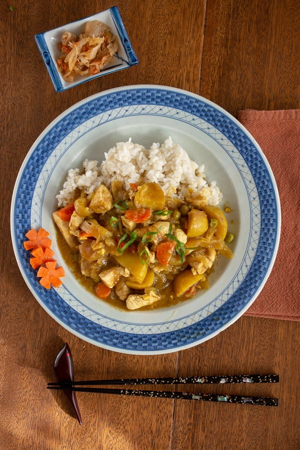 Japanese Chicken Curry From Scratch A Meal In Mind