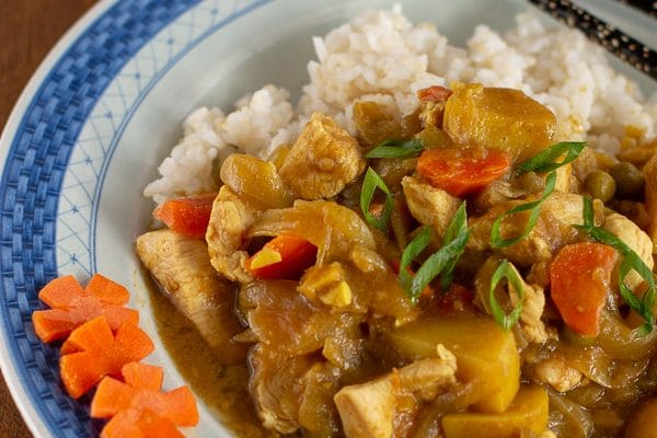 Japanese Chicken Curry from Scratch