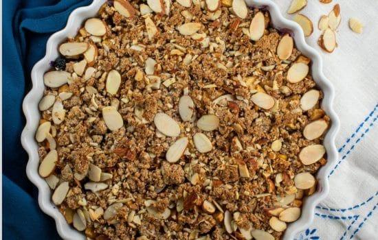 Apple Blueberry Crisp – Paleo and Gluten-Free