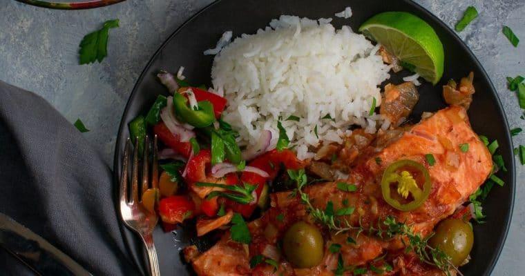Veracruz Style Steelhead or Salmon