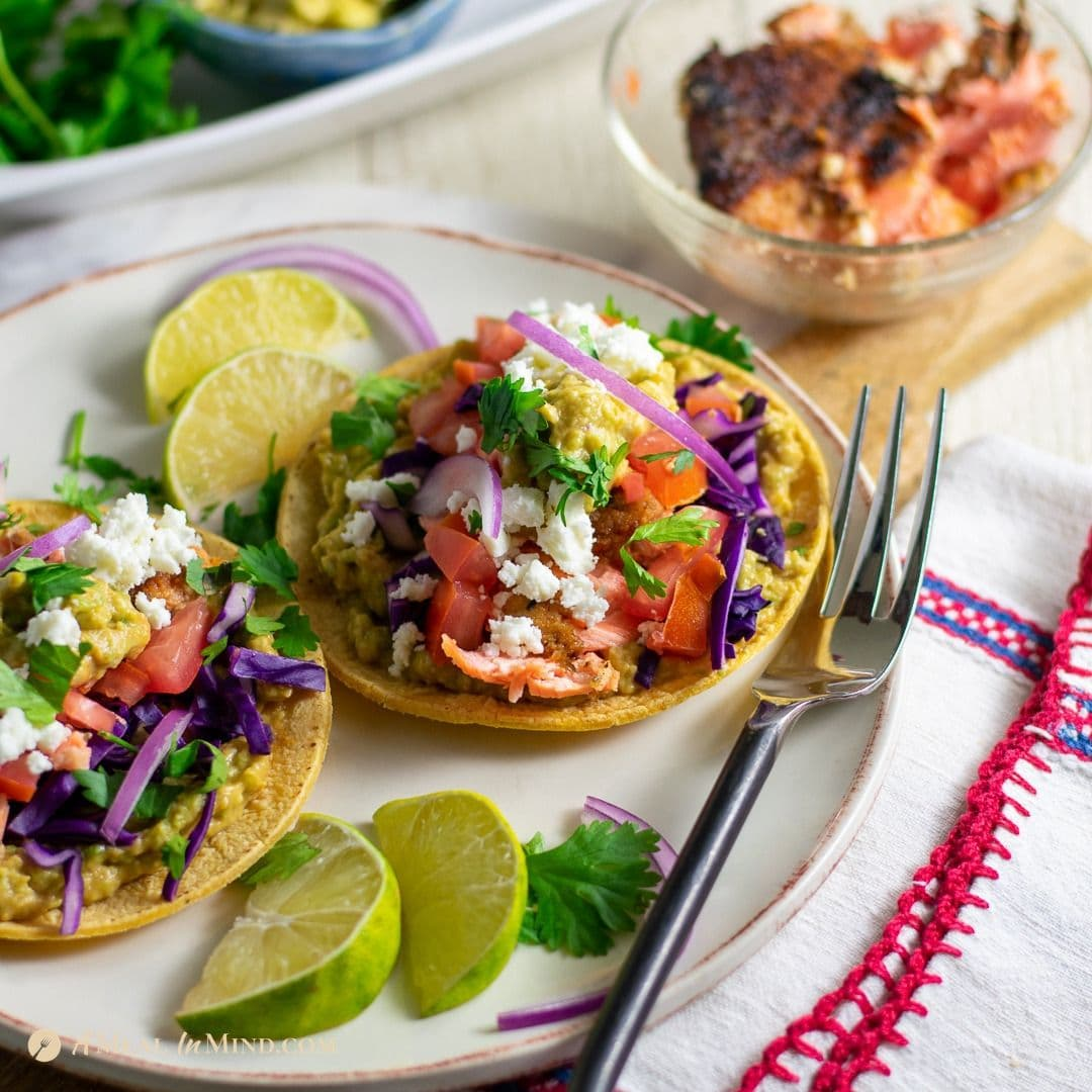 Almond-Crusted Steelhead or Salmon Tacos