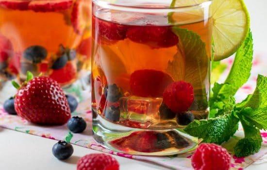 Fruit-Infused Herbal Tea