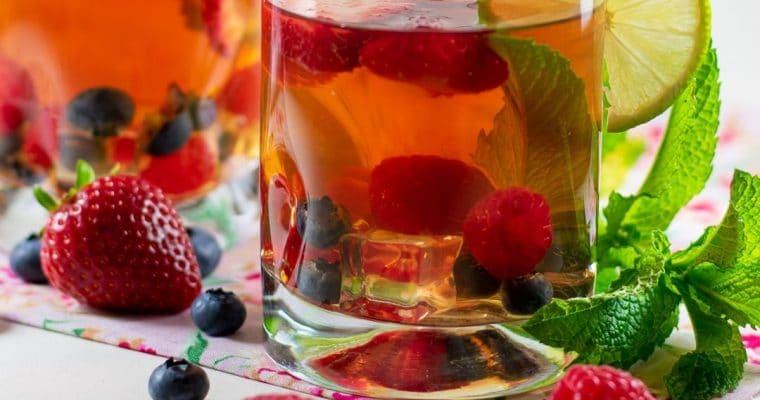 Fruit-Infused Herbal Tea