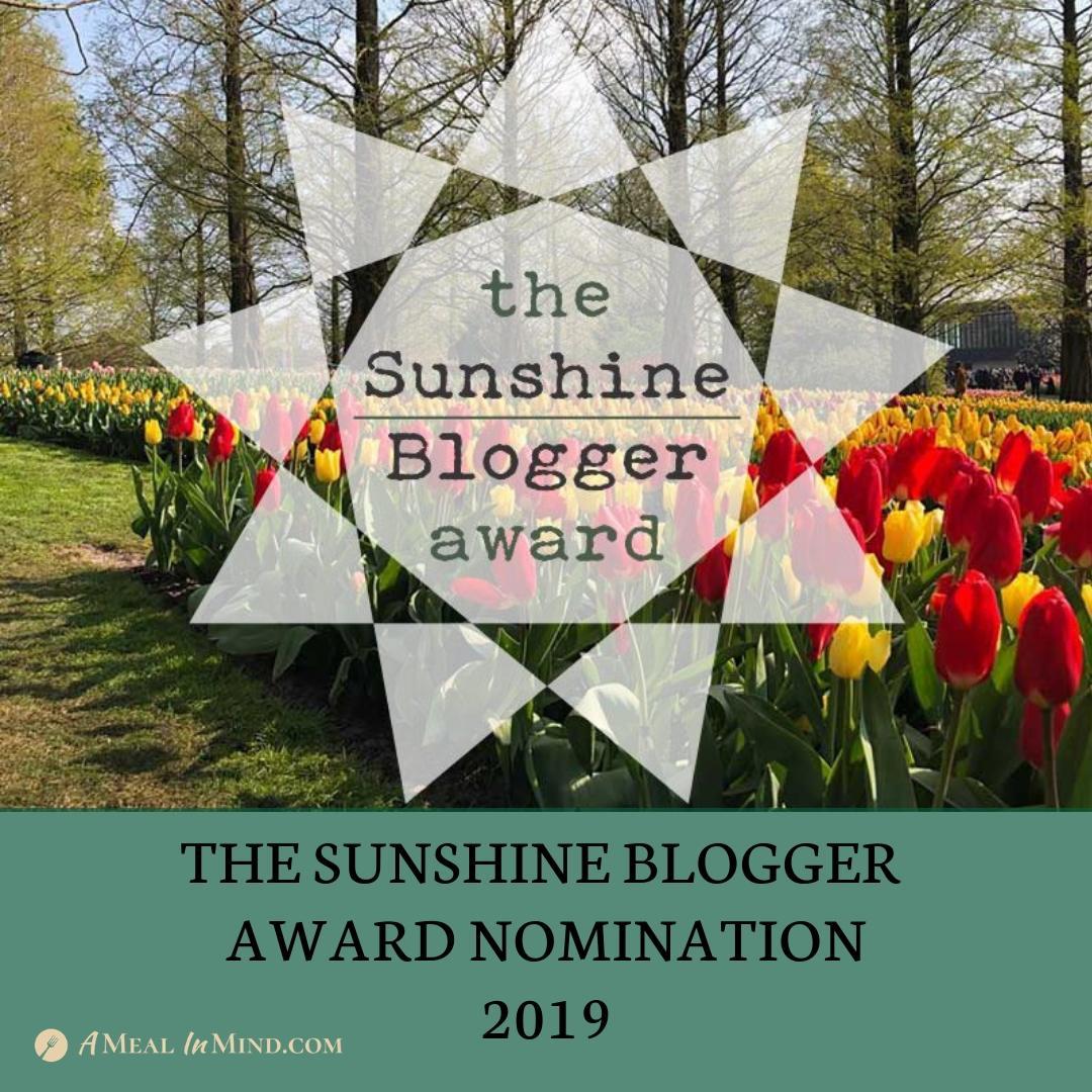 THE SUNSHINE BLOGGER AWARD!!!
