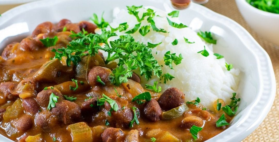 Red Beans and Rice 2 ways – Gluten and dairy free