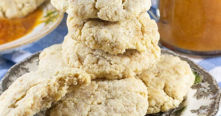 Almond-Flour Biscuits – 5-Ingredient