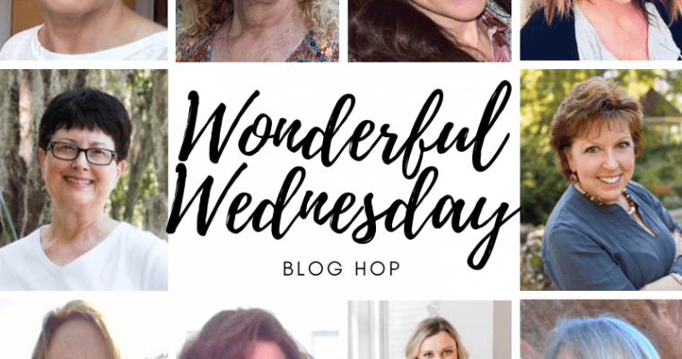 square image for the wonderful wednesday blog hop 353