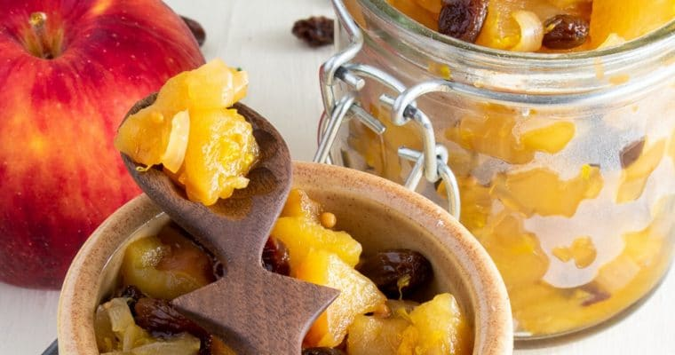 Easy Apple Chutney