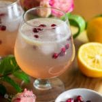 refreshing sparkling meyer lemon mocktail