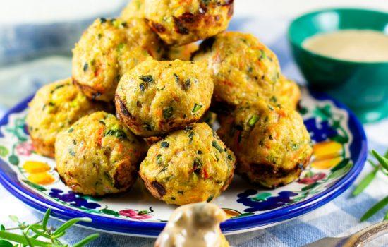 Chicken-Vegetable Meatballs