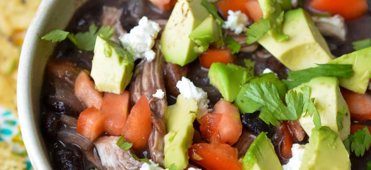 Slow Cooker Green Chile Chicken Enchilada Soup – Gluten Free