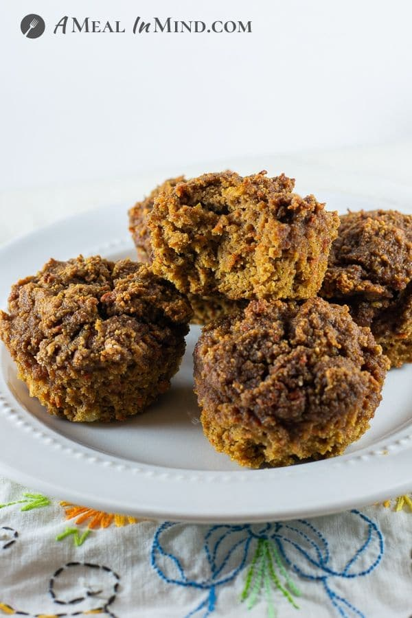 Chickpea-Apple Carrot Muffins