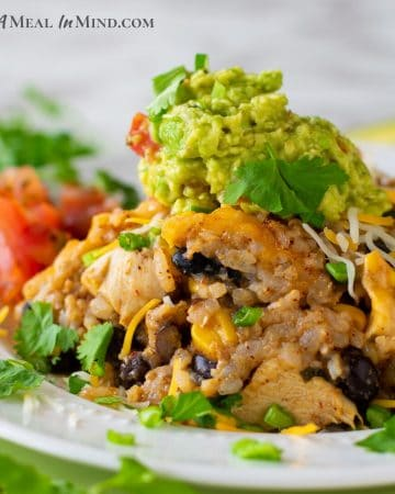 Green-Chile-Rice Chicken Casserole