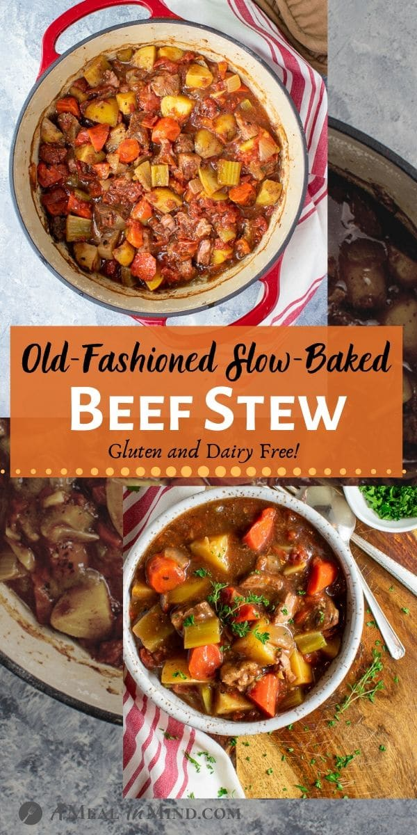 Old Fashioned Oven Baked Beef Stew pinterest 3 image
