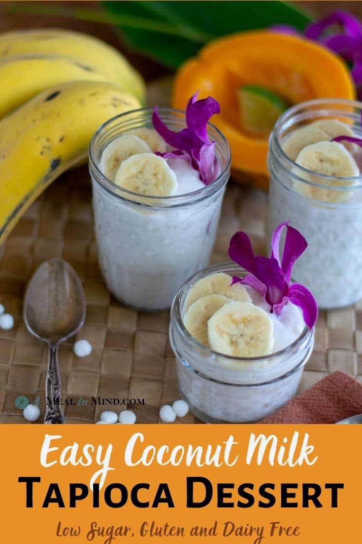 Easy Coconut Milk Tapioca Dessert