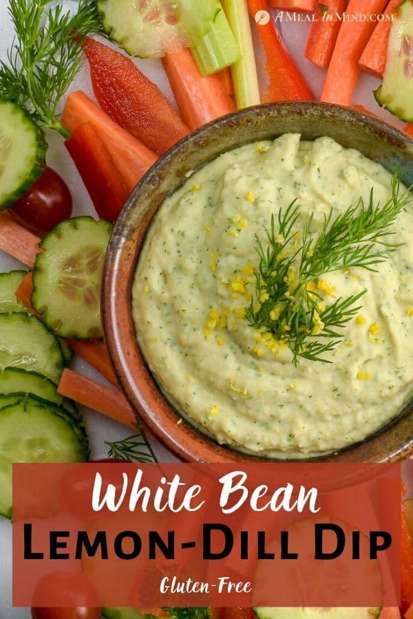 White Bean Lemon-Dill Dip