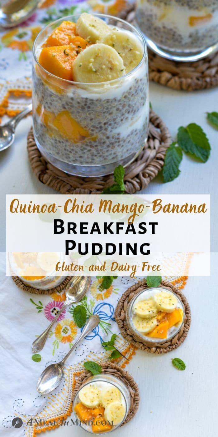 Quinoa-Chia Breakfast Pudding