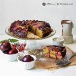 Plum Breakfast Cake with Plum Sauce
