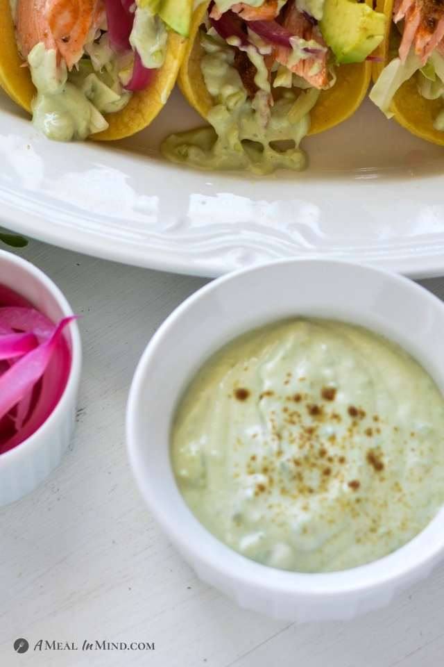 Yogurt-Avocado Crema
