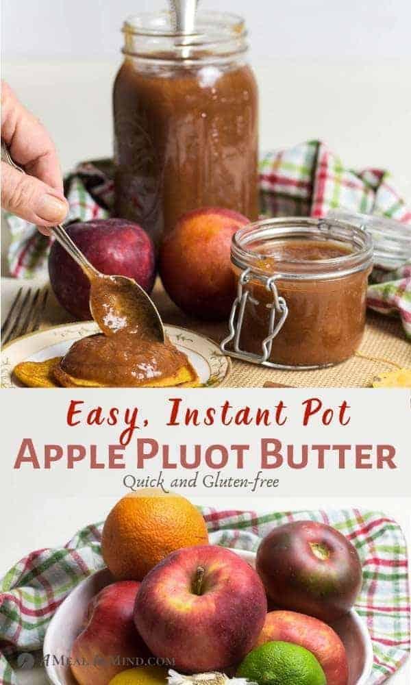Apple Pluot Butter Pinterest Image